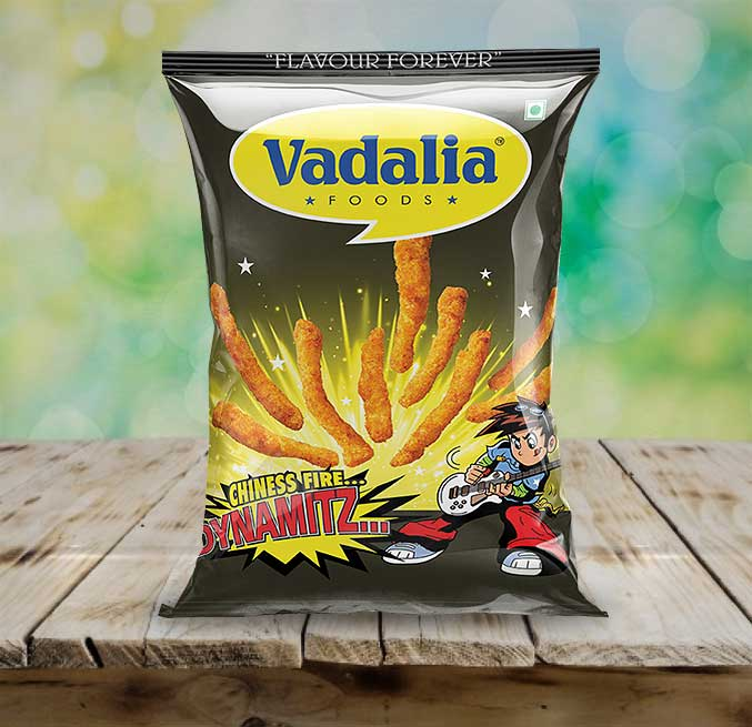 Dynamitz Chinese Fire from Vadalia Foods | Yummy Dynamitz Chinese Fire | Tasty Dynamitz Chinese Fire | Kurkure Chinese Fire | 8906061390420