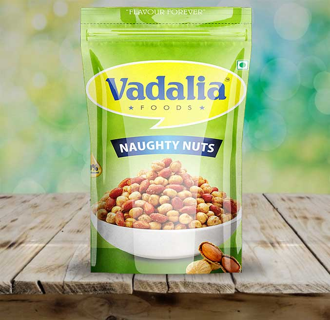 Naughty Nuts Family Pack | Go Crazy Never Before | Tasty and Spicy Nuts from Vadalia Foods | 8906061390499