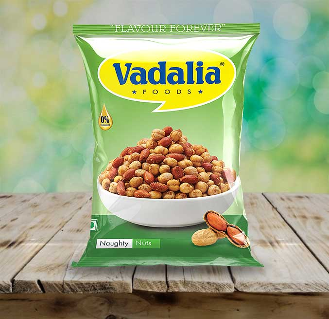 Naughty Nuts | Go Crazy Never Before | Tasty and Spicy Nuts from Vadalia Foods | 8906061390499